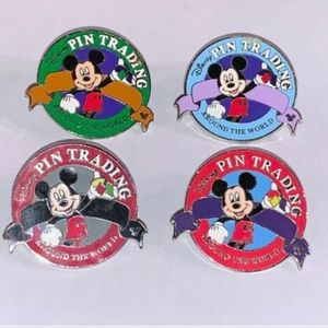 Disney Trading Pins Hidden Mickey Around the World